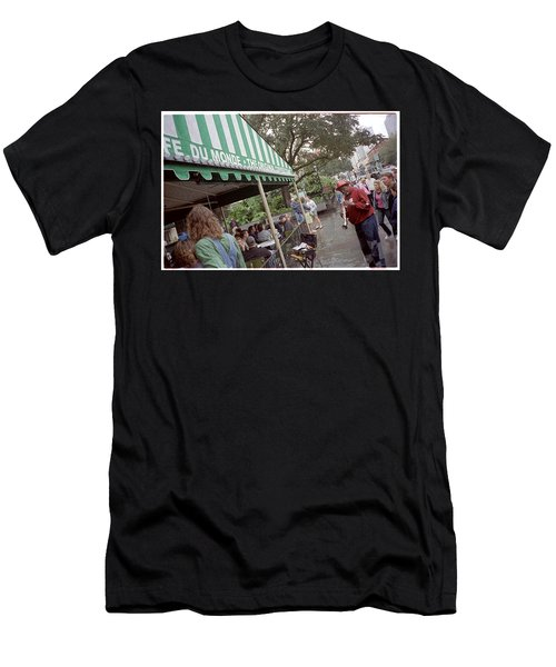 Cafe Du Monde Men's T-Shirt (Athletic Fit)