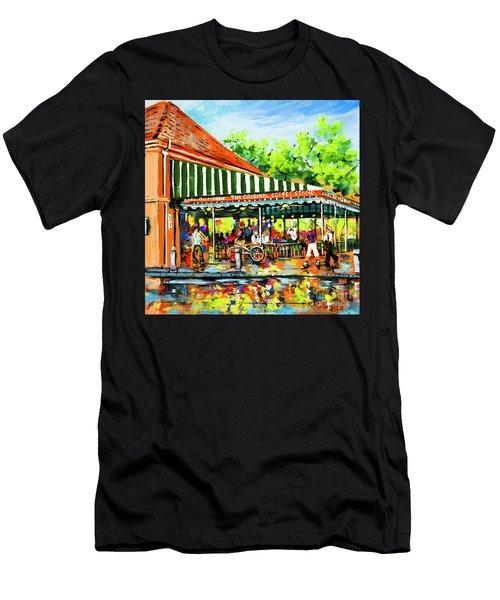 Cafe Du Monde Lights Men's T-Shirt (Athletic Fit)