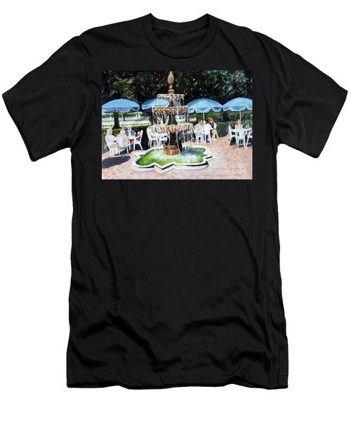 Cafe Gallery Men's T-Shirt (Athletic Fit)