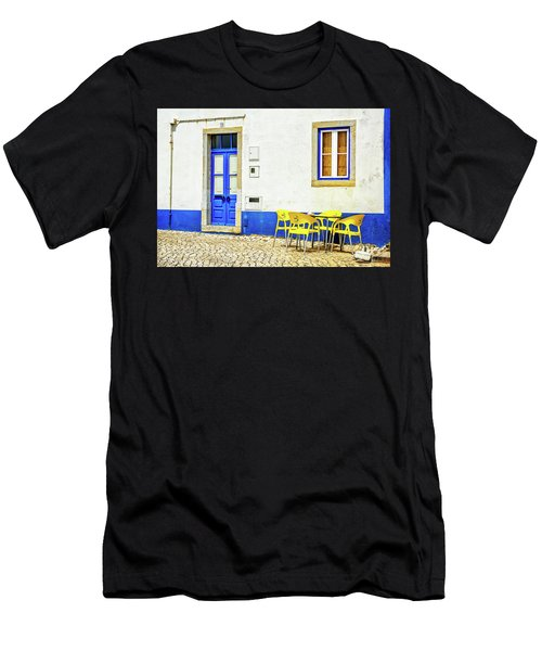 Cafe In Portugal Men's T-Shirt (Athletic Fit)