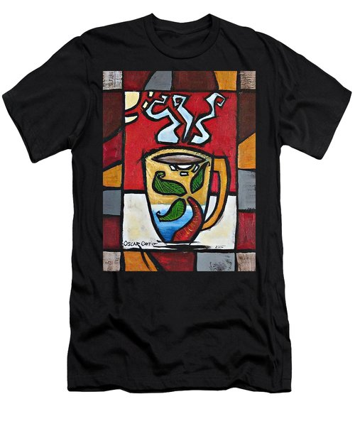 Cafe Palmera Men's T-Shirt (Athletic Fit)