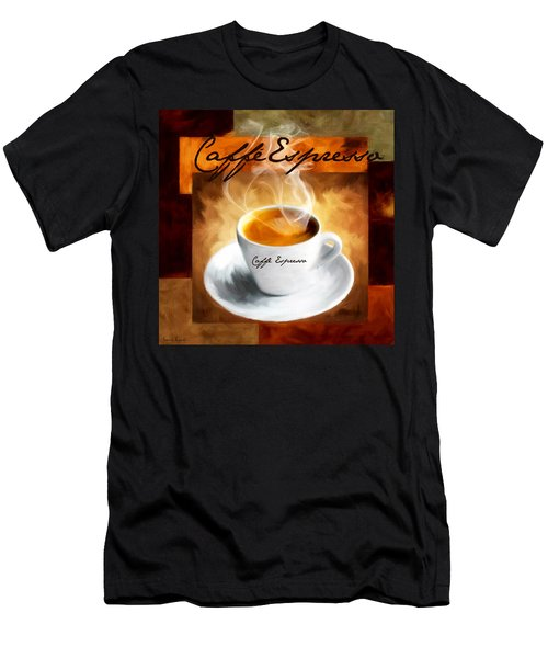Caffe Espresso Men's T-Shirt (Athletic Fit)