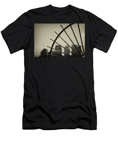 Caged Canary Men's T-Shirt (Athletic Fit)