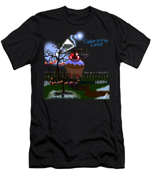 Cake Icing Land Men's T-Shirt (Athletic Fit)