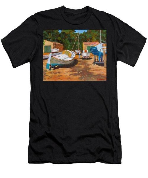 Cala Figuera Boatyard - I Men's T-Shirt (Athletic Fit)