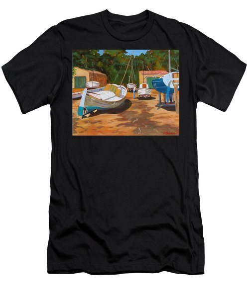 Cala Figuera Boatyard - I Men's T-Shirt (Athletic Fit)