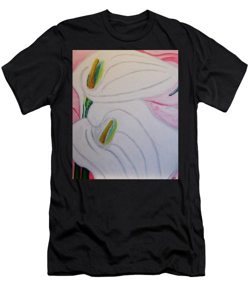 Cala Lillies Men's T-Shirt (Athletic Fit)