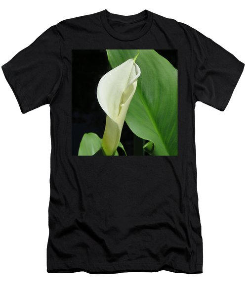 Cala Lily  Men's T-Shirt (Athletic Fit)