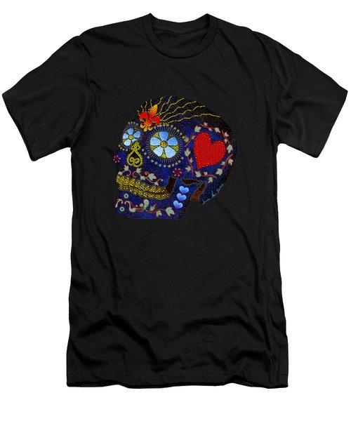 Calavera Del Azucar Men's T-Shirt (Athletic Fit)