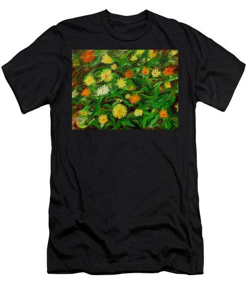Calendula Men's T-Shirt (Athletic Fit)