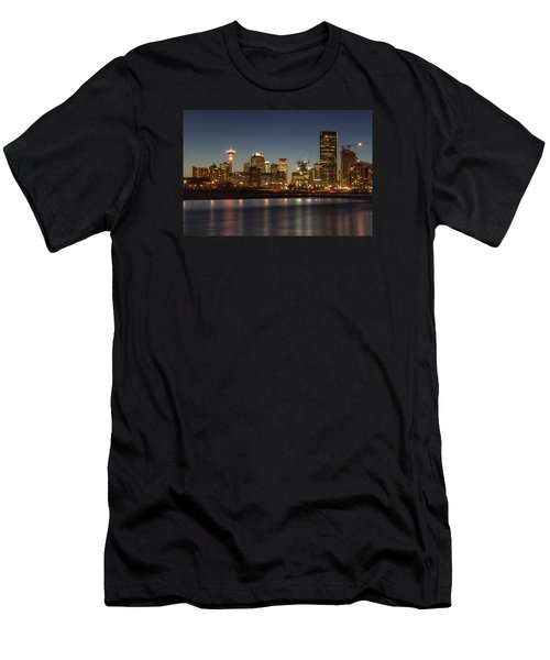 Calgary Lights Men's T-Shirt (Athletic Fit)