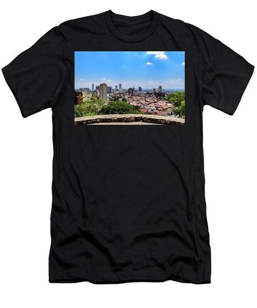 Cali Skyline Men's T-Shirt (Athletic Fit)