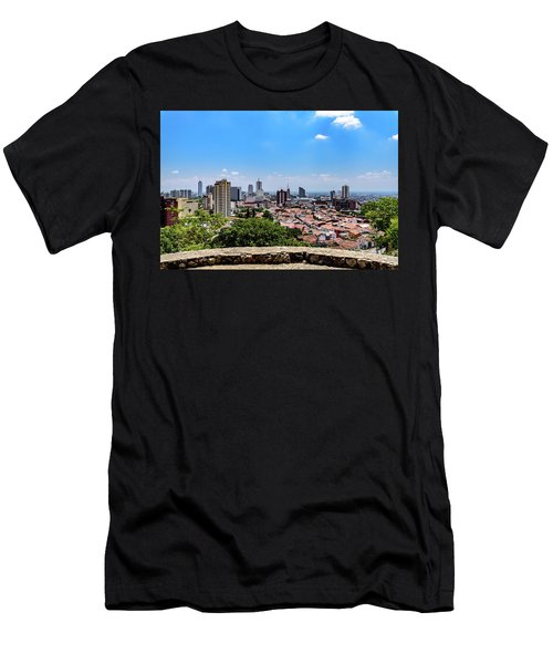 Cali Skyline Men's T-Shirt (Athletic Fit)