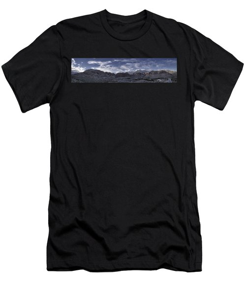Calico Basin Panorama Men's T-Shirt (Athletic Fit)