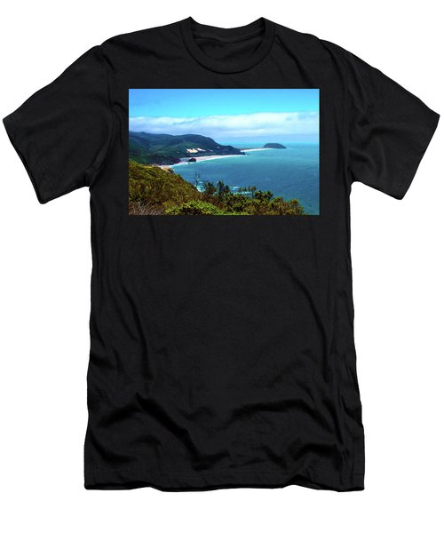California Central Coast Cove Men's T-Shirt (Athletic Fit)