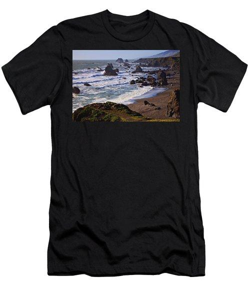 California Coast Sonoma Men's T-Shirt (Slim Fit) by Garry Gay