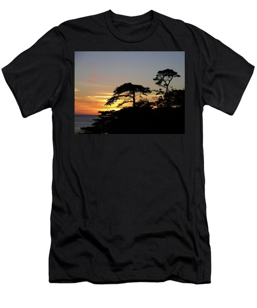 California Coastal Sunset Men's T-Shirt (Athletic Fit)