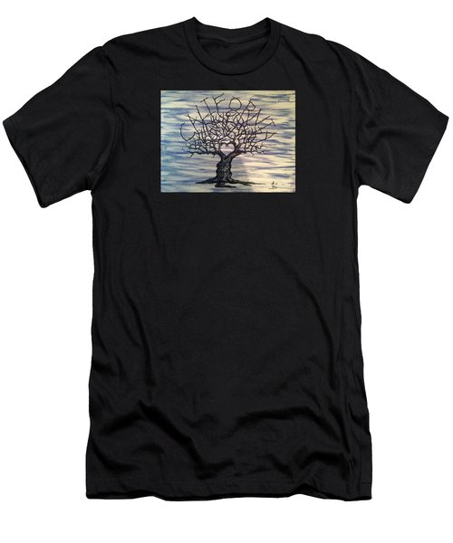 California Love Tree Men's T-Shirt (Athletic Fit)