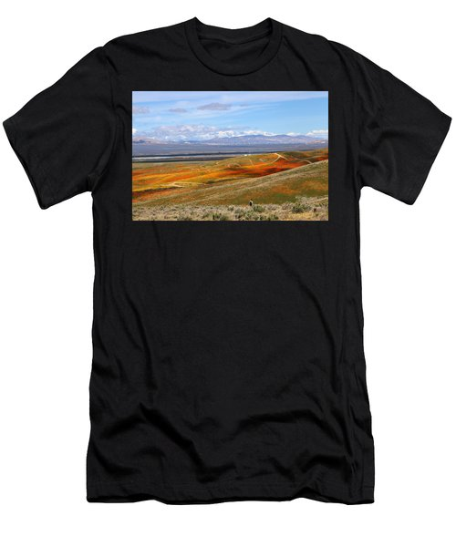 California Poppy Reserve Men's T-Shirt (Athletic Fit)