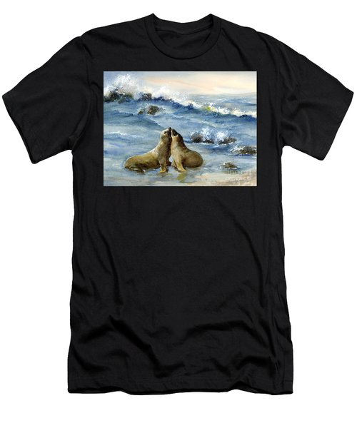 California Sea Lions Men's T-Shirt (Athletic Fit)