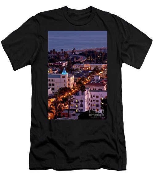 California Street At Ventura California Men's T-Shirt (Athletic Fit)