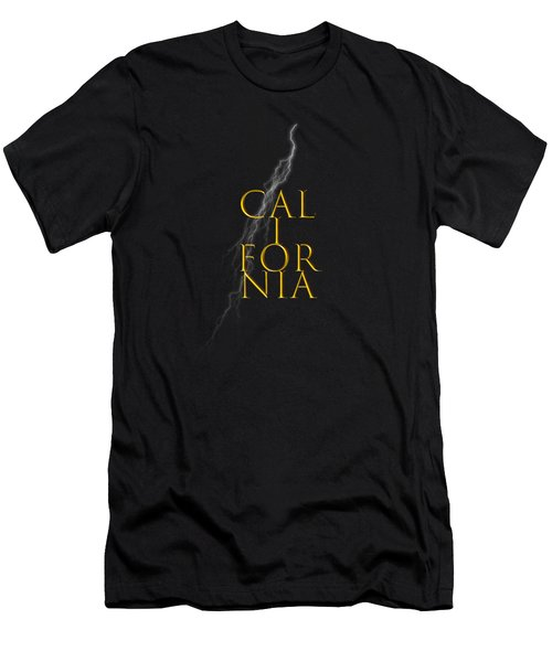 California Text Men's T-Shirt (Athletic Fit)