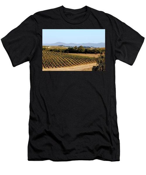 California Vineyards Men's T-Shirt (Athletic Fit)
