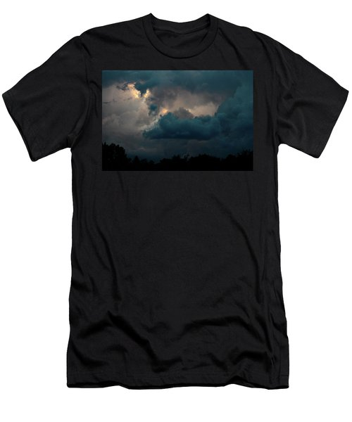 Men's T-Shirt (Slim Fit) featuring the photograph Call Of The Valkerie by Bruce Patrick Smith