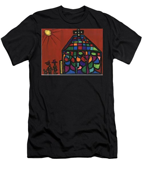 Call To Worship Men's T-Shirt (Slim Fit) by Darrell Black