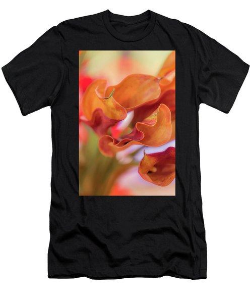 Calla Lilies Men's T-Shirt (Athletic Fit)