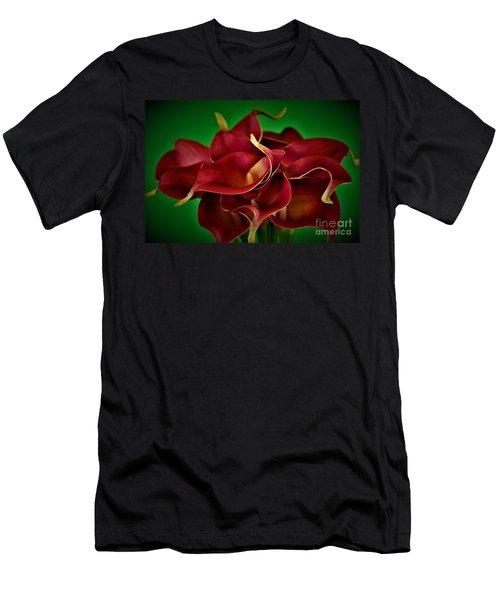Calla Lily Bouquet Men's T-Shirt (Athletic Fit)