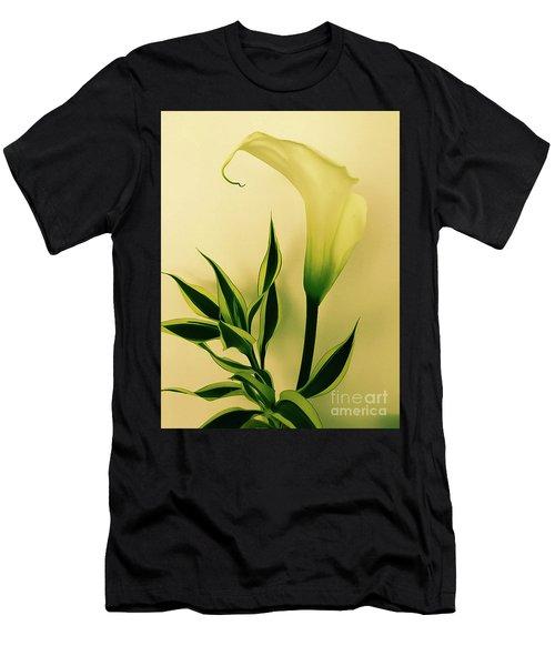 Calla Lily Men's T-Shirt (Athletic Fit)