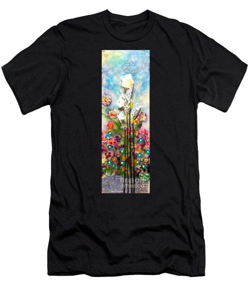 Calla Lily Dance Men's T-Shirt (Athletic Fit)