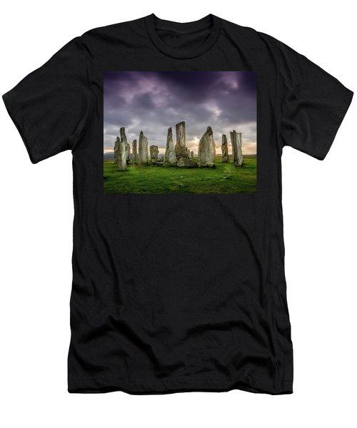 Callanish Stone Circle, Scotland Men's T-Shirt (Athletic Fit)
