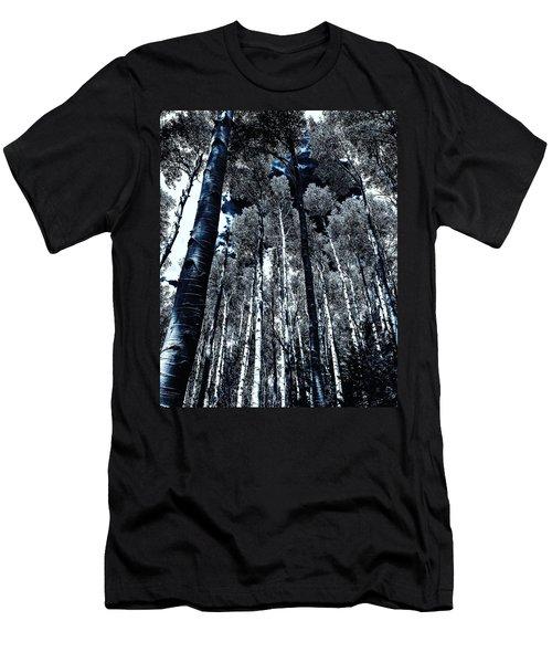 Calm Amongst The Aspens Men's T-Shirt (Athletic Fit)