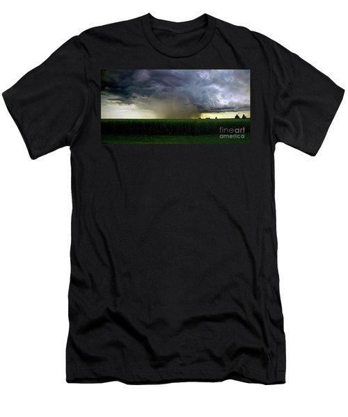 Calm Before The Storm Men's T-Shirt (Slim Fit) by Sue Stefanowicz