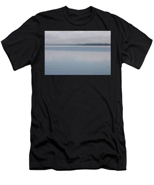 Calm Lake Men's T-Shirt (Athletic Fit)