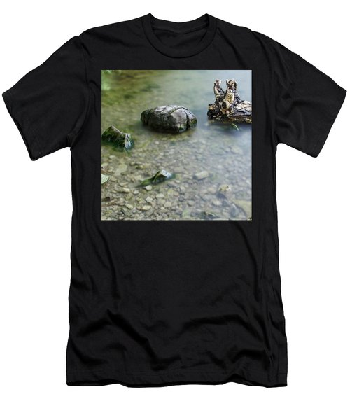 Calm Lake Men's T-Shirt (Athletic Fit)
