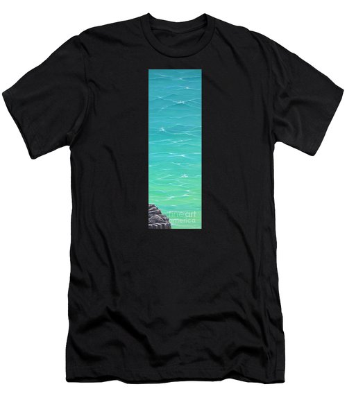 Men's T-Shirt (Athletic Fit) featuring the painting Calm Reflections II by Mary Scott
