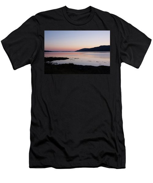 Calm Sunset Loch Scridain Men's T-Shirt (Athletic Fit)