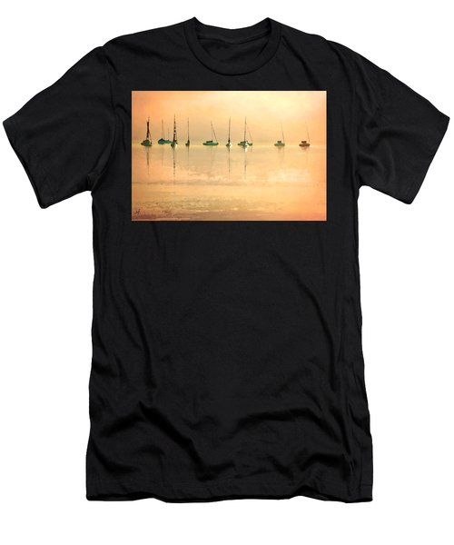 Men's T-Shirt (Athletic Fit) featuring the digital art Calm Waters by Shelli Fitzpatrick