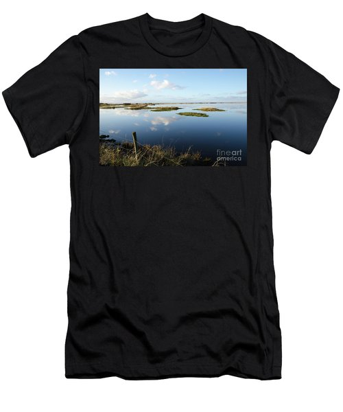 Calm Wetland Men's T-Shirt (Slim Fit) by Kennerth and Birgitta Kullman
