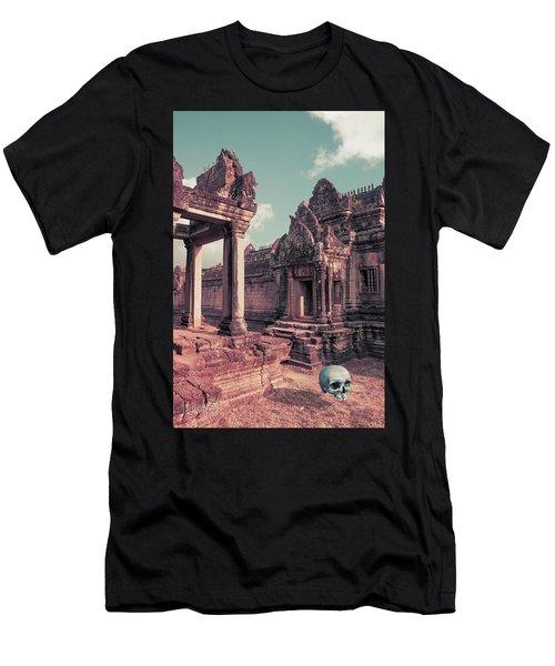 Cambodian Blue Men's T-Shirt (Athletic Fit)