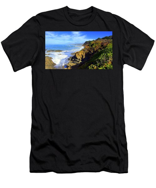 Cambria By The Sea Men's T-Shirt (Athletic Fit)