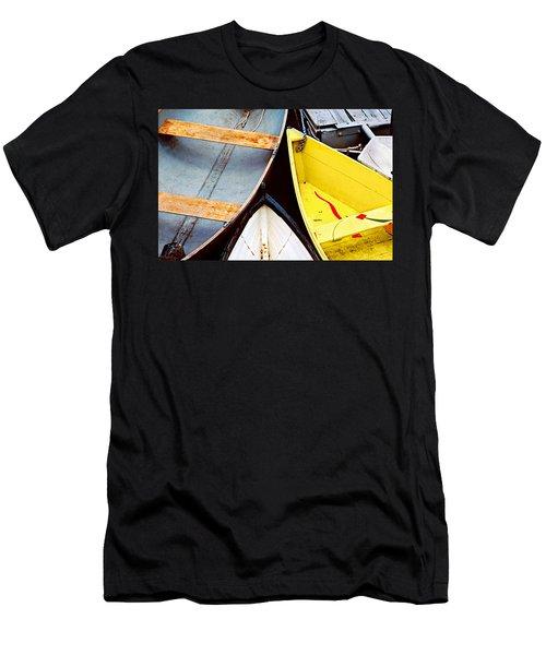 Camden Dories Photo Men's T-Shirt (Slim Fit) by Peter J Sucy