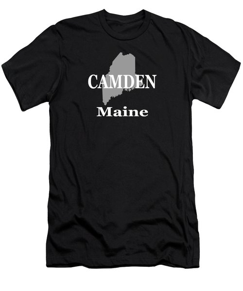 Camden Maine State City And Town Pride  Men's T-Shirt (Athletic Fit)