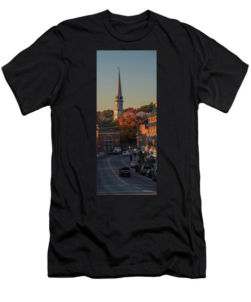 Camden Steeple Men's T-Shirt (Athletic Fit)