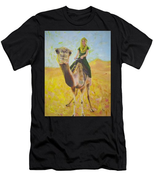 Camel At Work Men's T-Shirt (Athletic Fit)