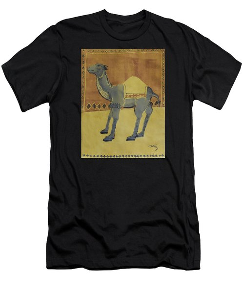 Camel With Diamonds Men's T-Shirt (Athletic Fit)