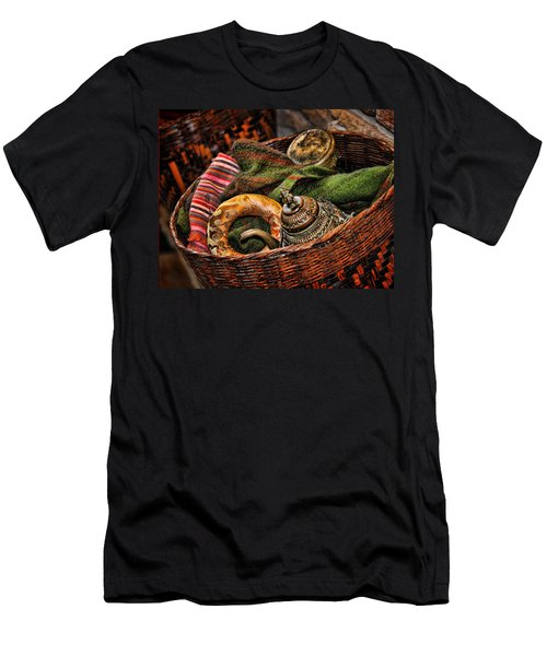 Men's T-Shirt (Slim Fit) featuring the photograph Camelback 8848 by Sylvia Thornton